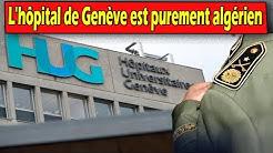 Algérie , Un général major algérien renvoyé des hôpitaux de Genève