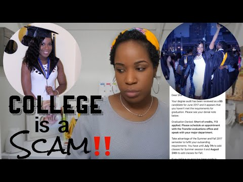College Is A SCAM   DON'T GO TO COLLEGE IN NYC   This Might Happen To You Too!!!