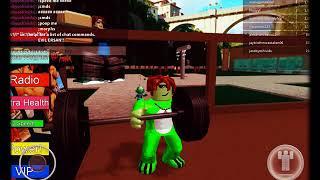 EVIL ERSAN!! (fan made weight lifting simulator) (Roblox #3)