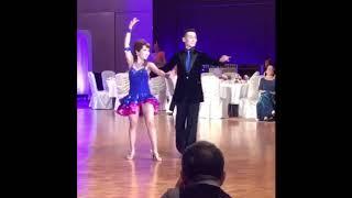 初めてルンバを習った数ヶ月後に… 初☆デモにて踊らせていただきました♪ ...