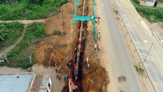 Chinese project helps Angolan villagers get clean tap water