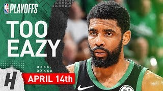 Kyrie Irving Full Game 1 Highlights Celtics vs Pacers 2019 NBA Playoffs - 20 Pts, 7 Assists!