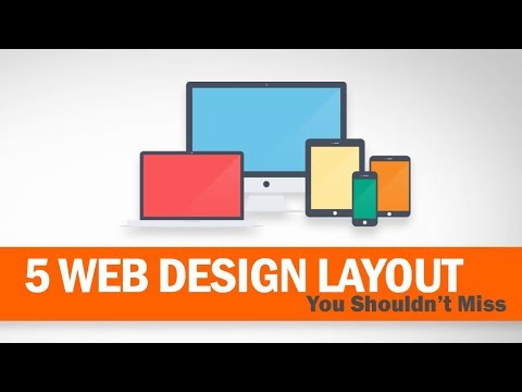 5 Cool Web Design Layout You Shouldn't Miss