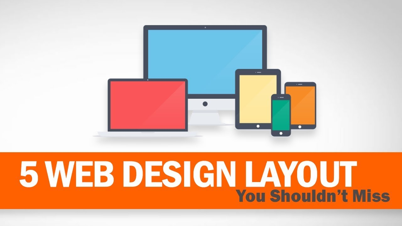 5 cool web design layout you shouldn t miss youtube