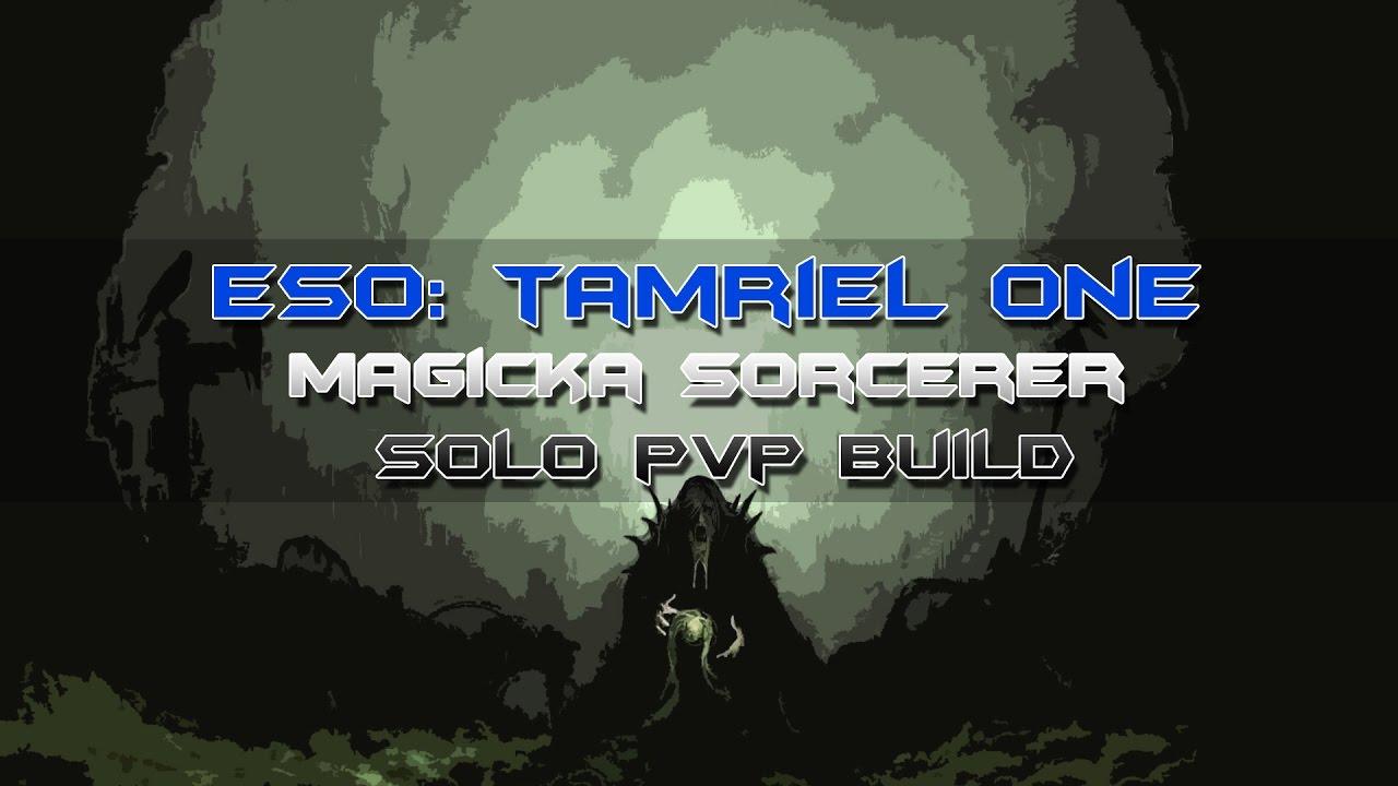 Magicka Sorcerer Build