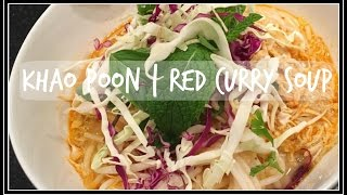 Red Curry Soup | Kapoon | Laotian Style | Food How To | Asian Food | House Of X Tia