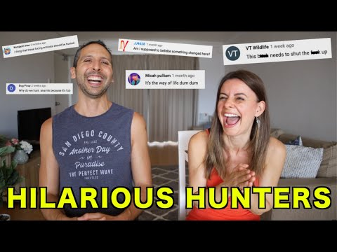 VEGANS RESPOND TO HUNTER HATE COMMENTS