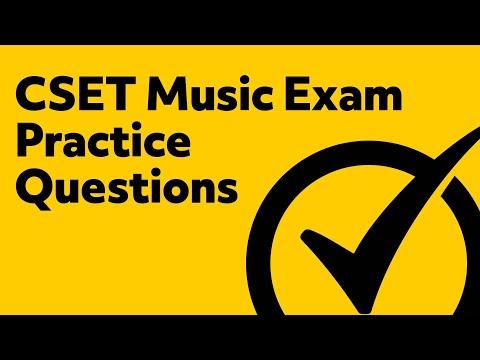 Free CSET Music Exam (136, 137, 138) Practice Questions