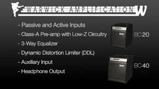 Warwick BC Series Combo Bass Amps