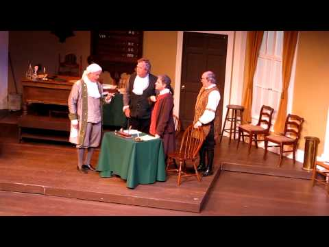 But Mr Adams 1776 Musical