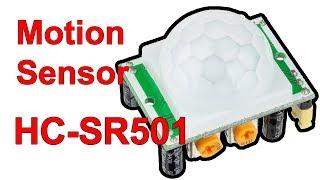 датчик движения HC-SR501 и подключение его к Arduino