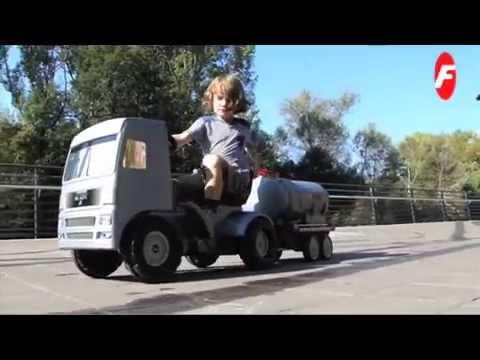 Ongekend Ferbedo Vrachtwagen Trapauto - YouTube WU-36