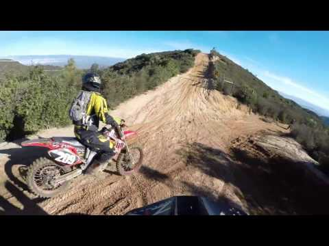 Hollister Hills Dirt Biking (1-15-17) Ride #2