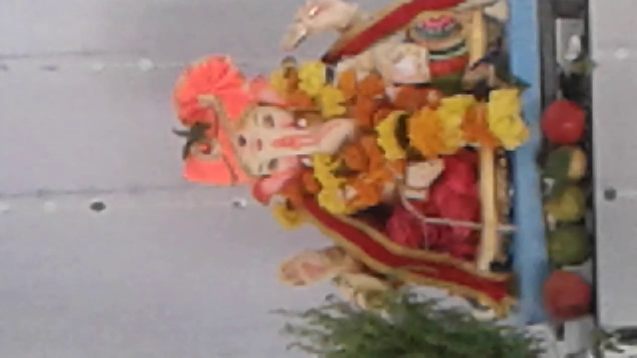 Home Ganpati Decorations Youtube