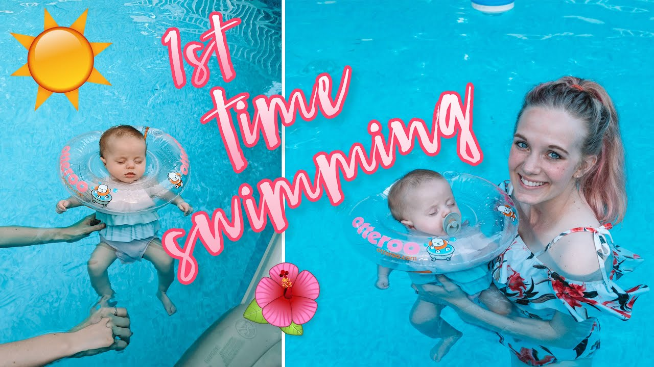 BABY GOES SWIMMING FOR THE FIRST TIME!! Walks by the lake, breastfeeding update, dog grooming! :)