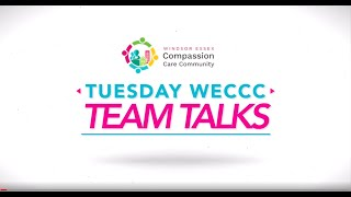 Tuesday WECCC Team Talk - Joseph Perry