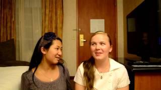 Grace and Johanna's Vlog