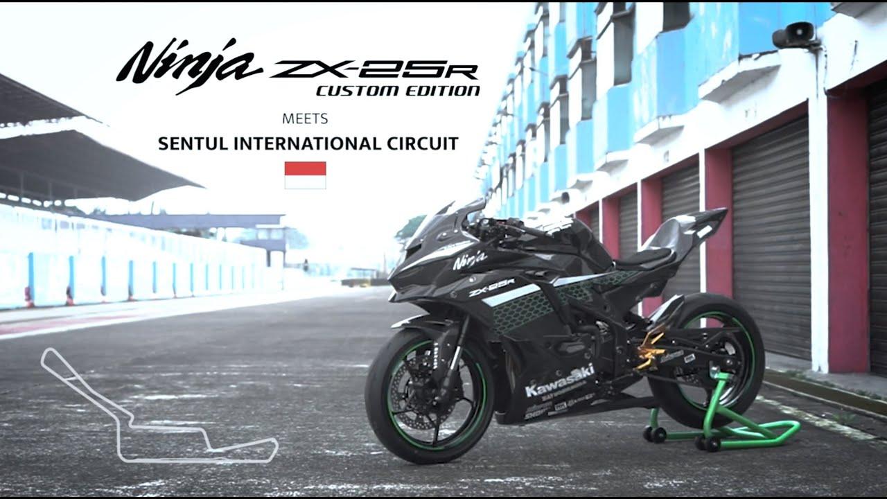 Kawasaki Ninja ZX-25R Custom Edition meets Sentul Circuit