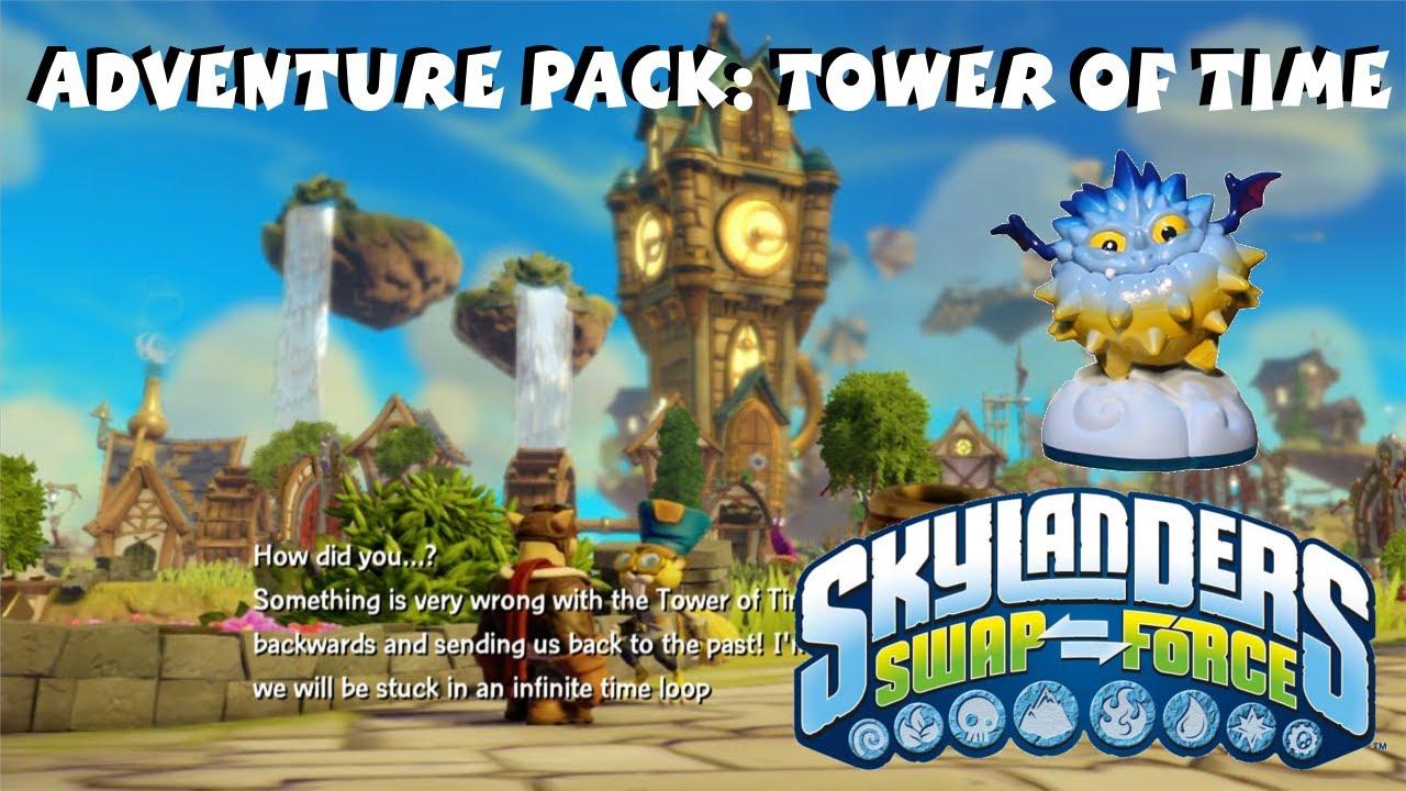 Skylanders swap force tower of time