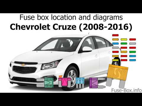 [DIAGRAM_38ZD]  Fuse box location and diagrams: Chevrolet Cruze (J300; 2008-2016) - YouTube   Chevrolet Orlando Fuse Box      YouTube