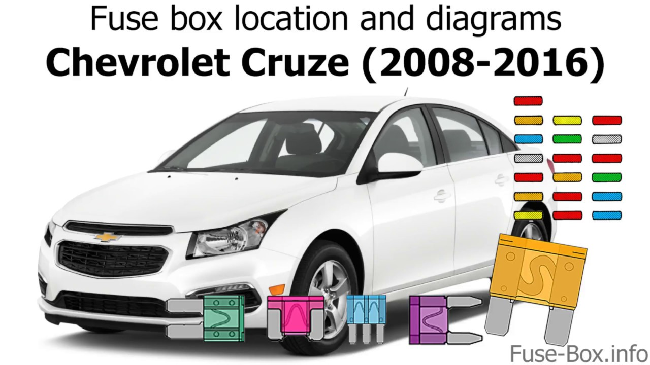 fuse box location and diagrams chevrolet cruze j300 2008 2016fuse box location and diagrams [ 1280 x 720 Pixel ]