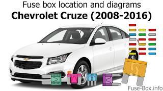 Fuse box location and diagrams: Chevrolet Cruze (J300; 2008-2016) - YouTube | 2015 Chevy Cruze Fuse Diagram |  | YouTube
