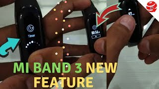 New Feature MI BAND 3 TIMER*