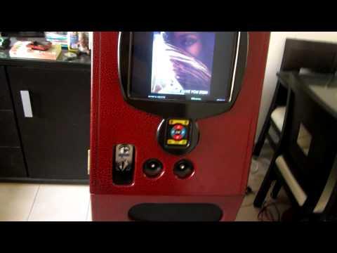 Rockola Digital Karaoke Mod. Rocko'lil Monitor CRT 17''