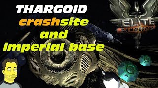 Elite: Dangerous Thargoid Crash Site And Imperial Research Base