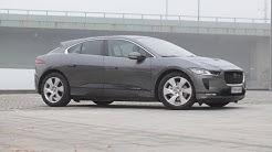 Koeajossa Jaguarin ensimmäinen sähköauto I-Pace (Teknavi 2018)