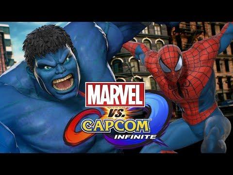Marvel vs. Capcom: Infinite - КТО ЖЕ КРУЧЕ? ПЕРВЫЙ ВЗГЛЯД!