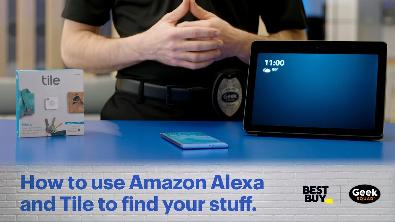 tech tips how to use amazon alexa and tile to find your stuff