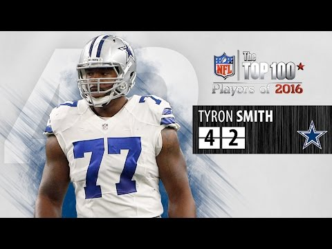 #42: Tyron Smith (OT, Cowboys) | Top 100 NFL Players of 2016