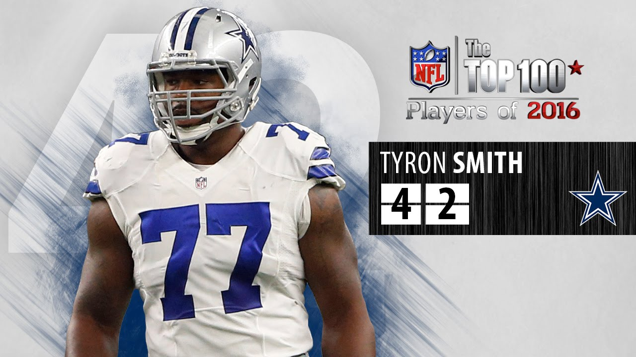 best service ac589 b03d5 #42: Tyron Smith (OT, Cowboys) | Top 100 NFL Players of 2016