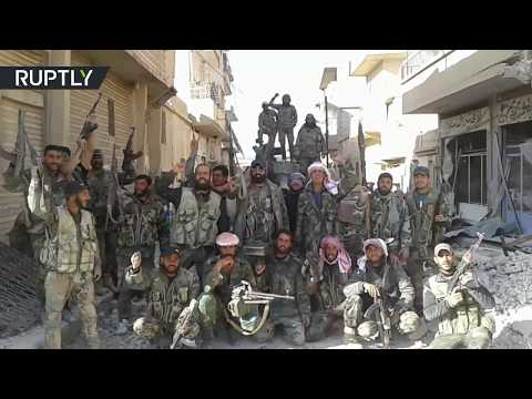 EXCLUSIVE: Syrian Arab Army liberates last ISIS stronghold in Homs