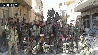 EXCLUSIVE  Syrian Arab Army liberates last ISIS stronghold in Homs