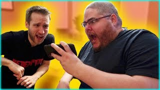 MCJUGGERNUGGETS & KIDBEHINDACAMERA REACT TO THE GHOST CAUGHT IN MY VIDEO!