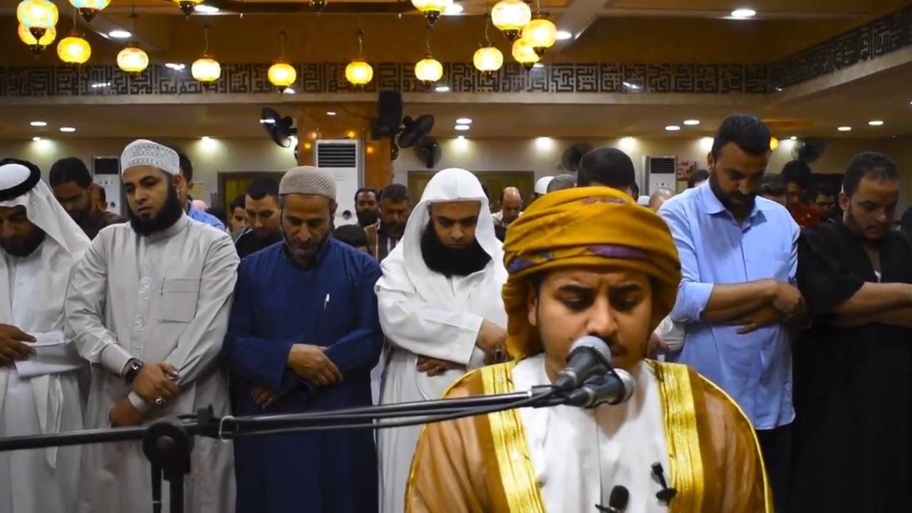 {أواخر الأحزاب} تلاوة خاشعة للقارئ هزاع البلوشي  مسجد الرحمه بمملكة الأردن