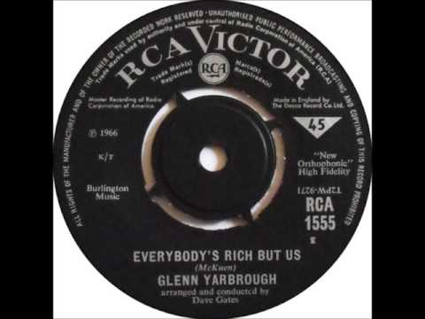 Glenn Yarbrough - Everybody's Rich But Us