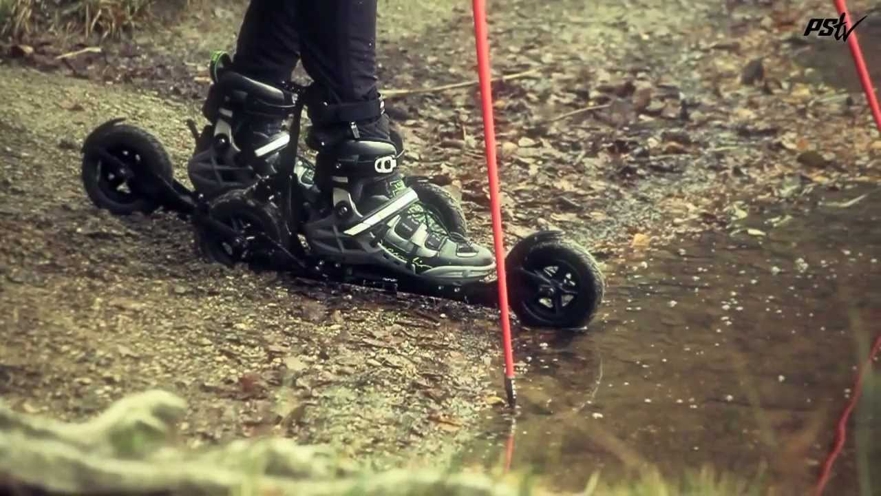 54f1f7daae1 Powerslide Nordic XC Trainer inline skates - YouTube