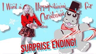 I Want a Hippopotamus for Christmas - Surprise Ending! - Beth Jean - Children's Music & Videos