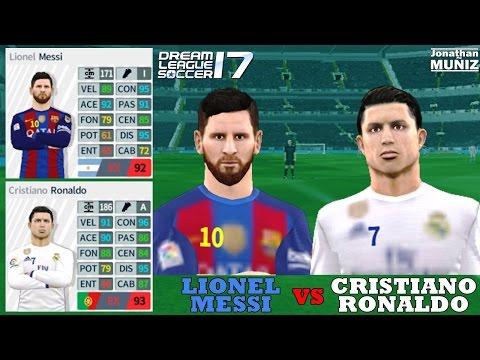 Lionel Messi Vs Cristiano Ronaldo • Skills & Goals • Dream League Soccer 2017