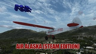 FSX Review - Take Flight's Air Alaska (Steam Edition)