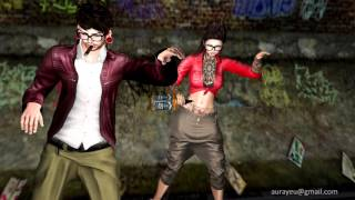 Adhi - club le Mabbu le Video Song Latest - second life Machinima Video