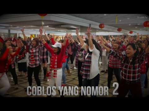 Los Angeles - Flashmob HIP HIP HURA Coblos No 2