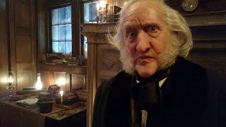 Larry Cedar as Scrooge