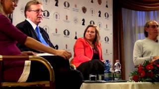 Day 7: The visit of Judit Polgar - World Youth U16 Chess Olympiad