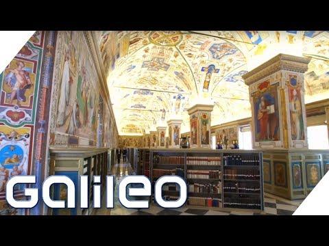 Die geheime Bibliothek des Vatikans   Galileo   ProSieben