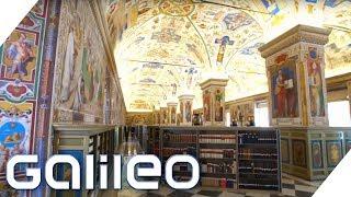 Die geheime Bibliothek des Vatikans | Galileo | ProSieben