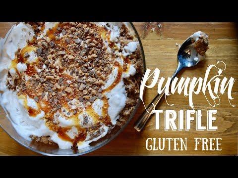 The Perfect Gluten Free Thanksgiving Pumpkin Dessert: Pumpkin Trifle